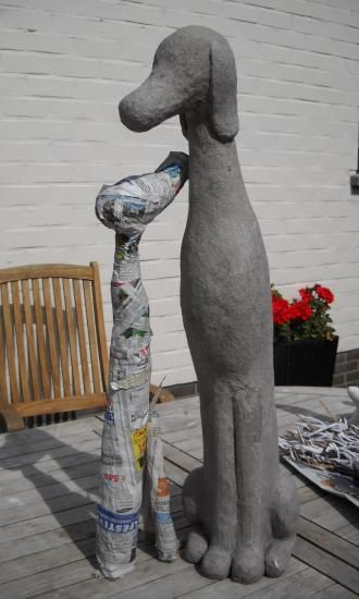 266 best images about ting i beton on pinterest plaster for Gartendeko figuren