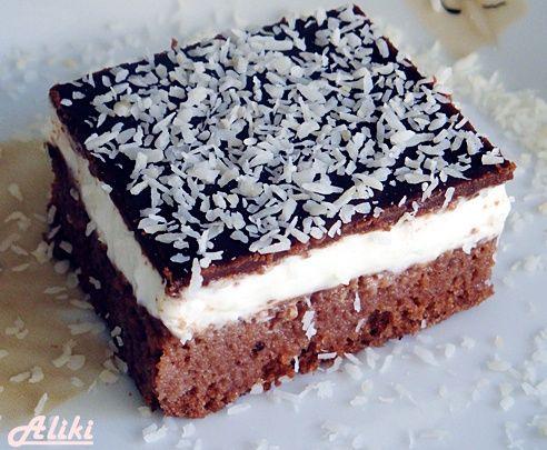Jednostavni kakao Bounty kolač