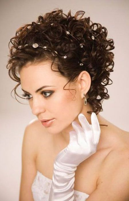 12 New Updo Hairstyles For Short Curly Hair 17 De Enero