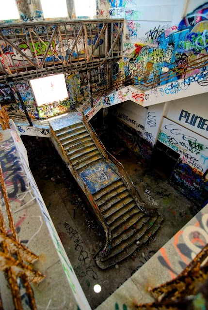 Fremantle Power Station - Staircase