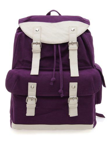 Do you love purple? These purple backpacks will surely put a smile on your face.