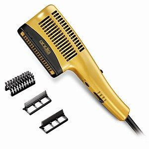 Andis Ionic Styler Dryer Gold With Black