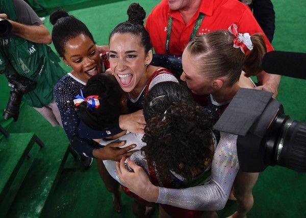 2016 Rio Olympic Games Women's Team Final-- Team USA