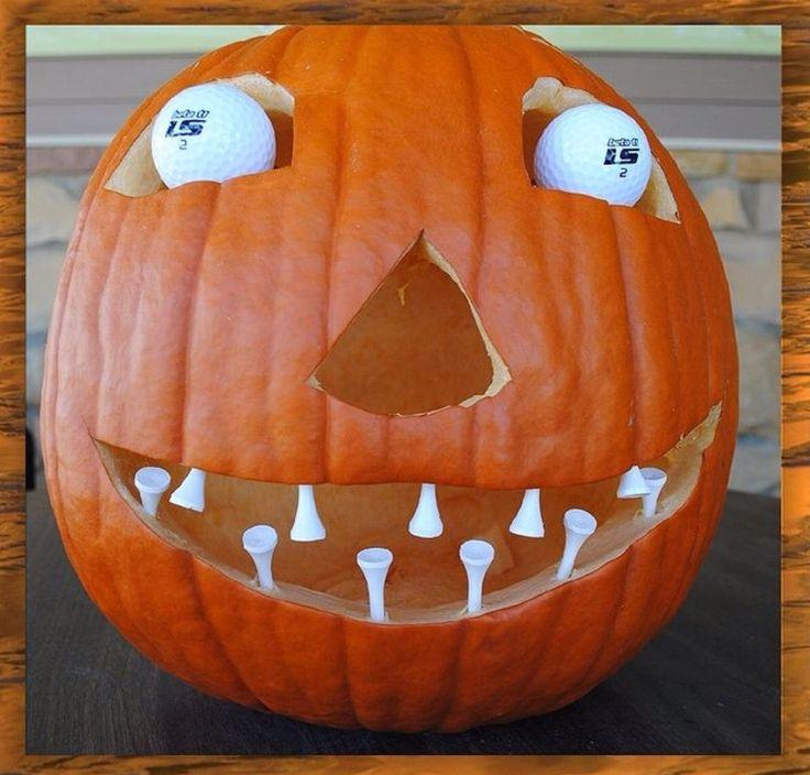 Golf Pumpkin!