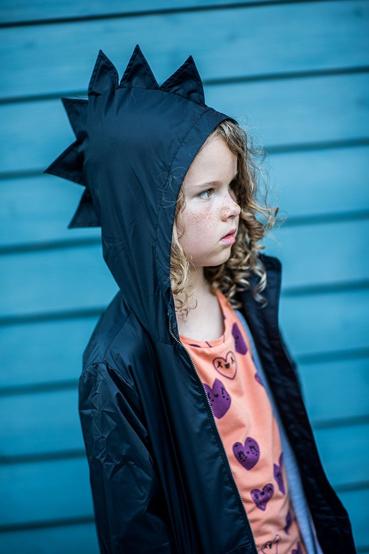 This well-tailored dino coat has attitude and style, which is a fantastic combination. The generous size ranges means that your little one can wear this for several years and then it can be passed down. By Kukukid offered by Modern Rascals.