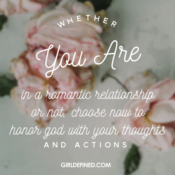 Honoring god in a dating relationship