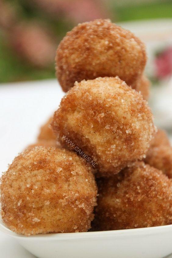 Kaneel en suiker muffins, smaken echt naar donuts