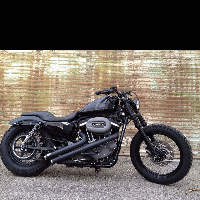 2009 Harley Nightster, with a few personal touches.