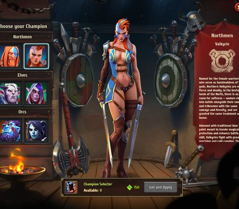 NORDS is a strategic \ war browser game with a great sense of humor and awesome voice-overs.