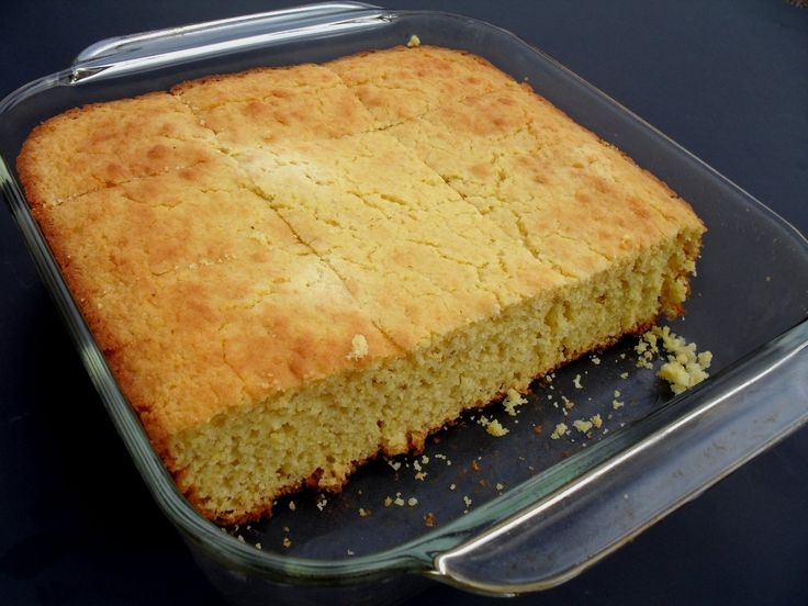 Homestead Cornbread | Carbquik Recipes | Pinterest