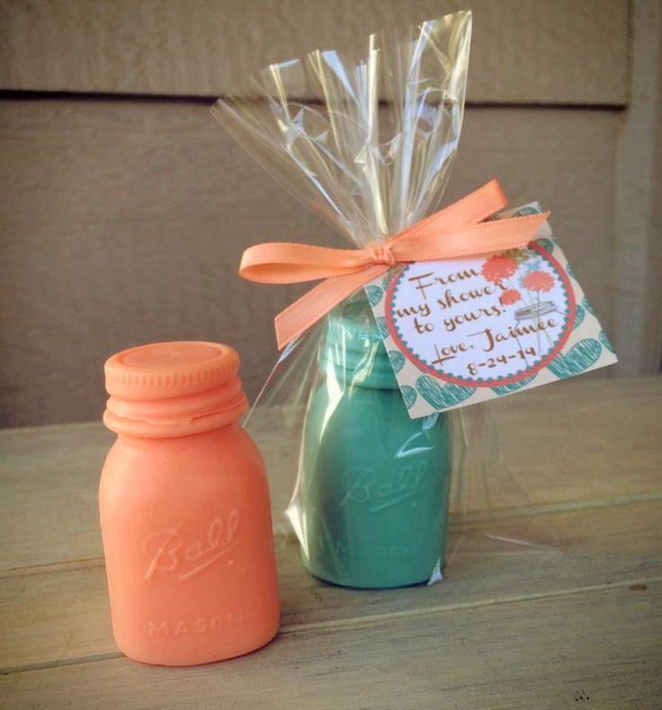 25 Mason Jar Soap Favors  Bridal Shower by favorsbyangelique