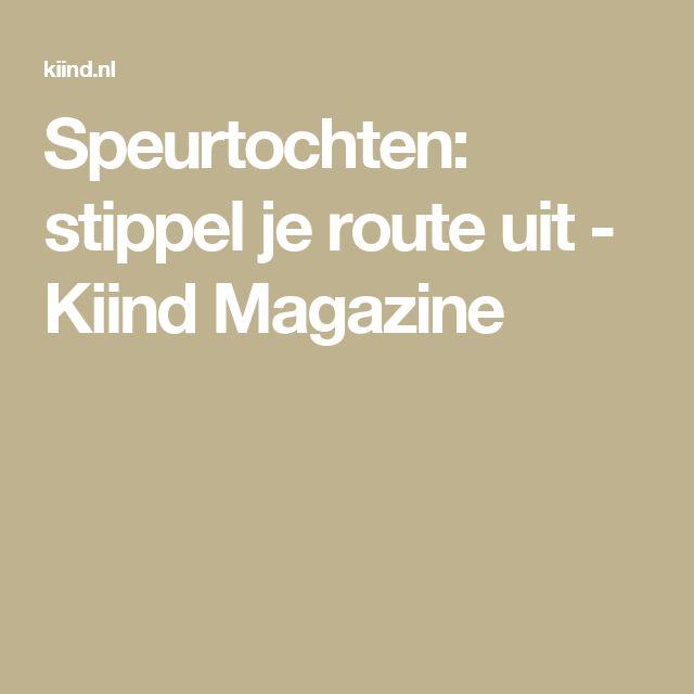 Speurtochten: stippel je route uit - Kiind Magazine