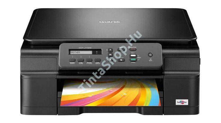 Brother DCP-J132W, multi tintás nyomtató.  http://www.tintashop.hu/nyomtato/brother_dcp_j132w_lc121123_multi_tintas_nyomtato
