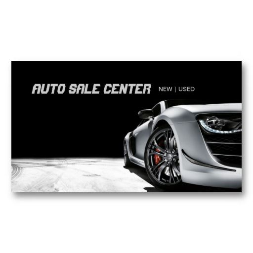 Luxury Car Dealer Business Card - Design #501051  Car Sales Business Cards