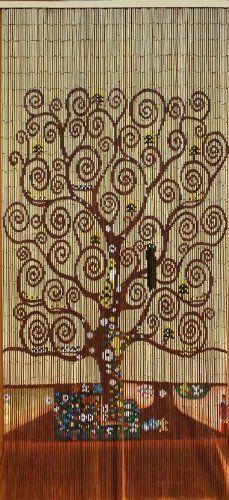 Tree Of Life Beaded Curtain 125 Strands (+hanging Hardware) ABeadedCurtain  Http:/
