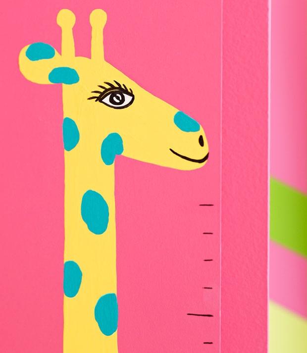 Turn a Growth Chart into Nursery Décor - Lowe's Creative Ideas