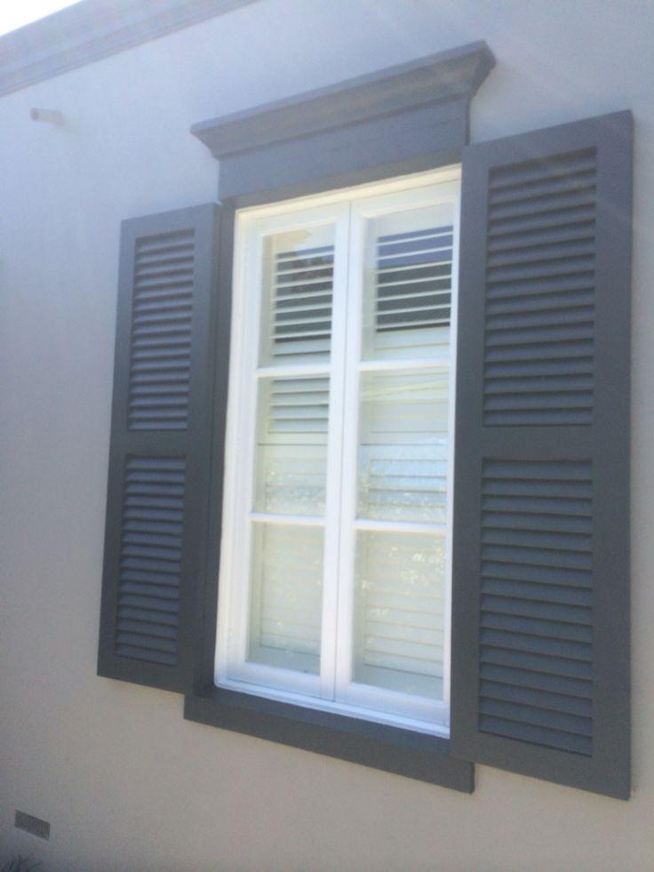 Outdoor shutter designs