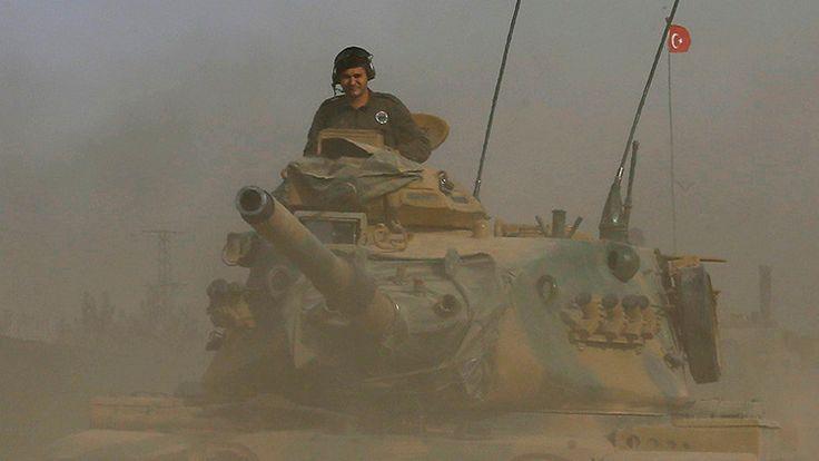 Las fuerzas del Ejército turco permanecerán en territorio sirio hasta que el…