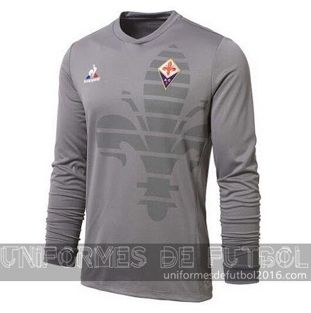 Jersey visitante para uniforme del ML portero Fiorentina 2015-16