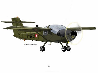 Drawing by Steen Tidmand  RDAF T-17 #danish #airforce #aircraft #art
