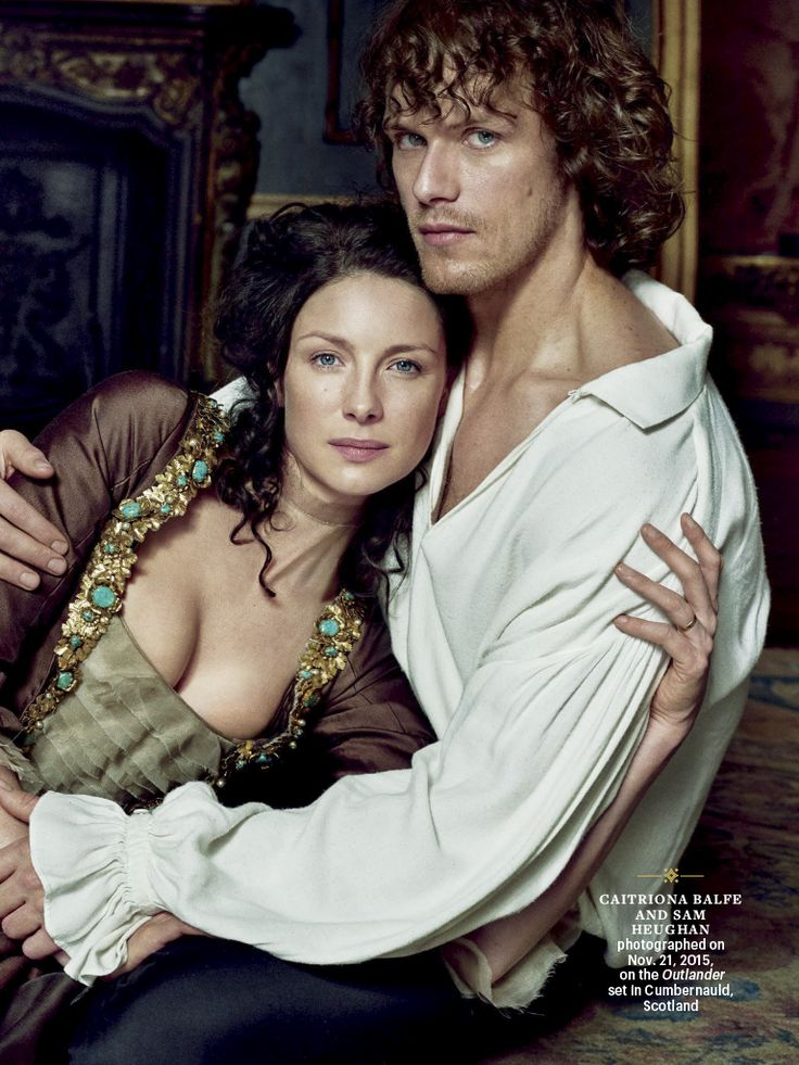 Claire and Jamie~Outlander~                                                                                                                                                                                 More