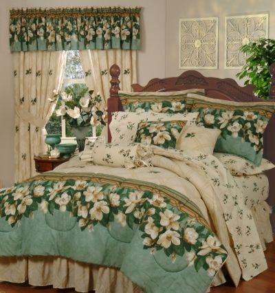 Bedding With Magnolias Savannah Bedding Magnolia