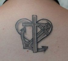 faith hope and love tattoos