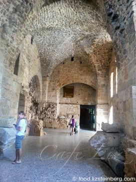 Inside the Crusader Castle, Acre