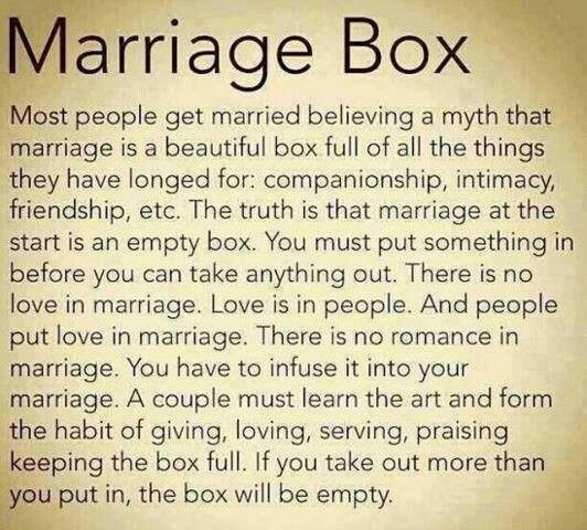 Marriage is just like a real job....if you want a raise, then work hard, be consistent, faithful, and honest in everything you do. ~Stacey Sarich ~