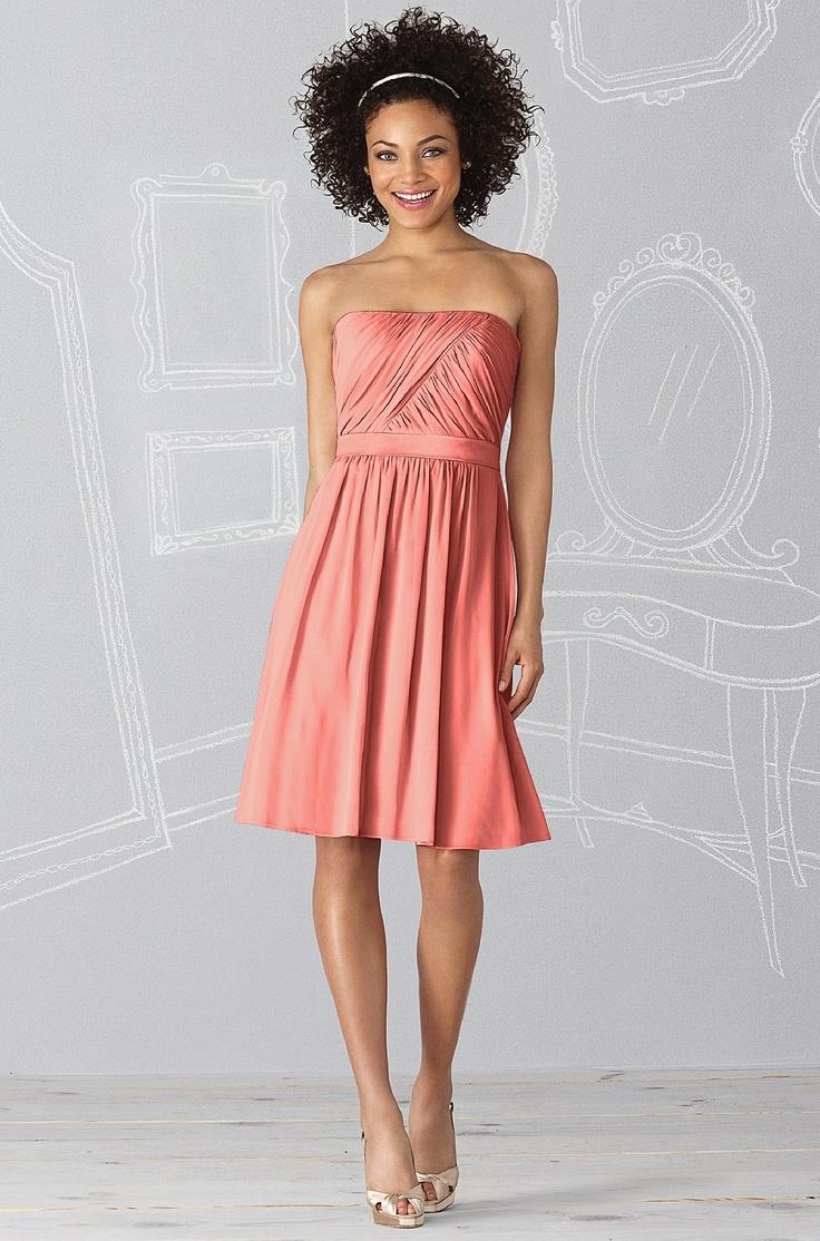 Mejores 236 imágenes de 2dayslook - Coral Dresses en Pinterest ...