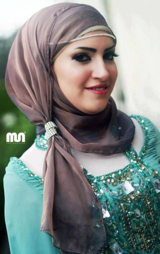 how to wear hijab for wedding