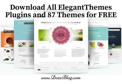Download Free All ElegantThemes Plugins and 87 Themes