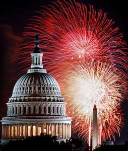 Washinton DC.... one of my most memorable independence day experiences was watching fireworks from Embassy Row