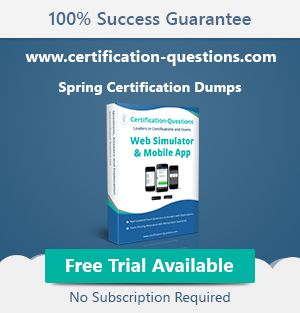 Is it Possible to take Spring Certification without training course? | Java67