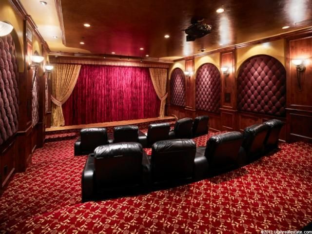 Home Theater Curtains Stage Lighting