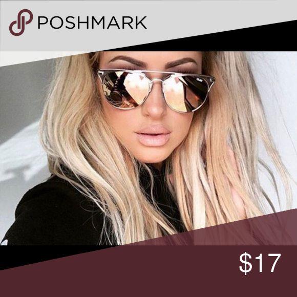 Women's mirrored sunglasses OS women's sunnies Accessories Sunglasses