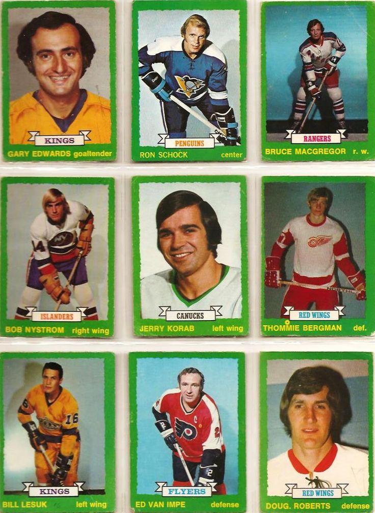 199-207 Gary Edwards, Ron Schock, Bruce MacGregor, Bob Nystrom (R), Jerry Korab, Thommie Bergman, Bill Lesuk, Ed Van Impe, Doug Roberts