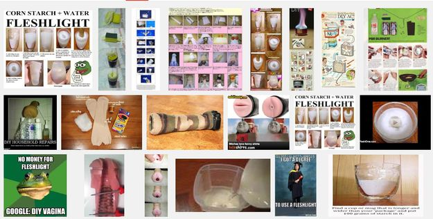 If you search for guy DIY projects online, you'll stumble upon a collection of homemade Fleshlights. | 18 More Ways To DIY A Fleshlight Than The World Ever Asked For