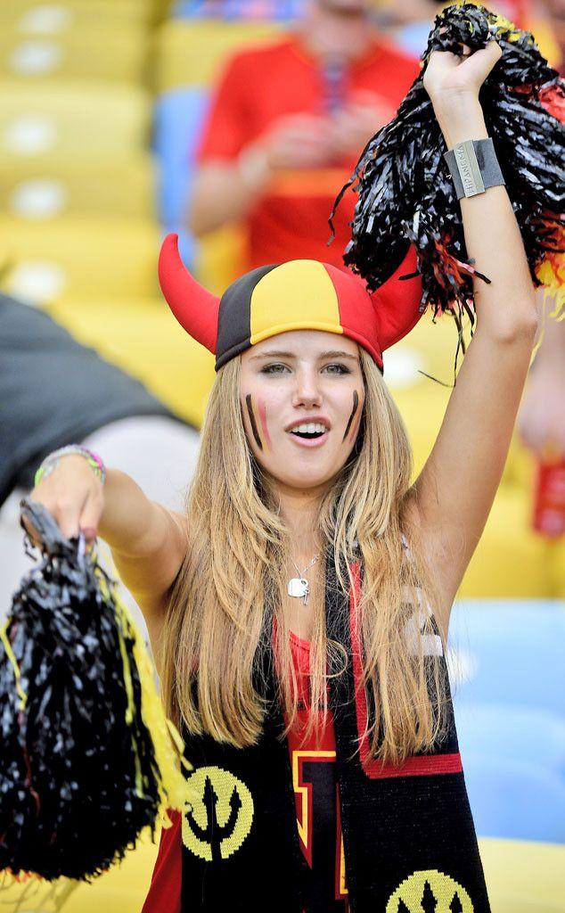 #Axelle Despiegelaere, Belgium Soccer Fan #world cup