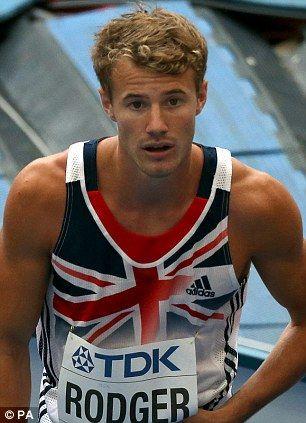 Sebastian Rodger - Athletics. 400m hurdles.