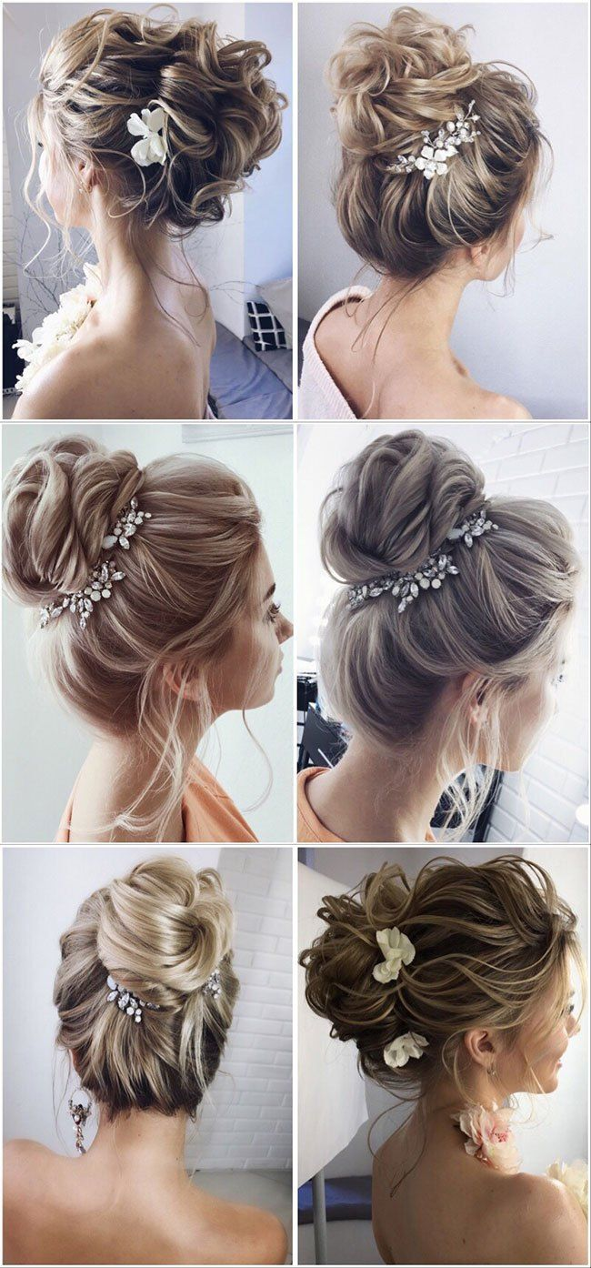 200 Charming Wedding Hairstyles From Lenabogucharskaya Bridal