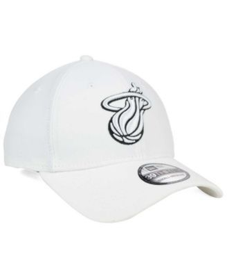 New Era Miami Heat Team Classic 39THIRTY Cap - White L/XL