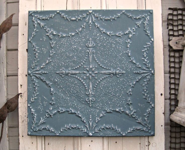 7 best Pressed Tin images on Pinterest | Tin ceilings, Tin ...