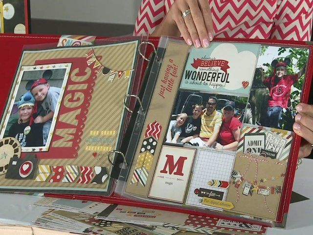 "Simple Stories ""Say Cheese"" Latest & Greatest Summer 2013 by Scrapbook Expo. Layle Koncar of Simple Stories walks us through their new Say Cheese Collection just launched at CHA Summer 2013.  This is a great collection to use for scrapping that famous amusement park trip or character meeting."