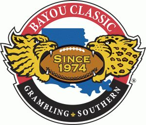 The Bayou Classic is the annual college football game between the Grambling State University Tigers and the Southern University Jaguars, first held under that name in 1974 at Tulane Stadium in New Orleans, Louisiana, although the series itself actually began in 1936. Since 1978 the game has been held the final Saturday in November (i.e., the Saturday after Thanksgiving) at the Mercedes-Benz Superdome. A Waterford crystal trophy is awarded to the winning school.