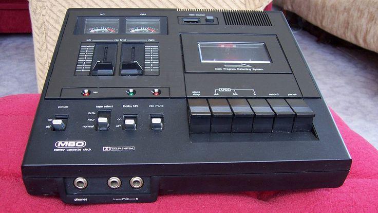 MBO CD 2000 tape deck