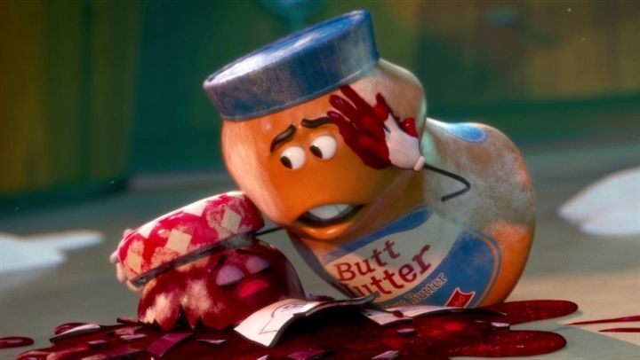 Sausage Party: The Booth: Kristen and Bill (Danish Subtitled) http://vanderleirodrigues.thwglobal.com/