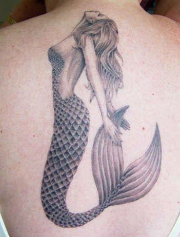 My favorite mermaid tattoo, to date! #tattoo