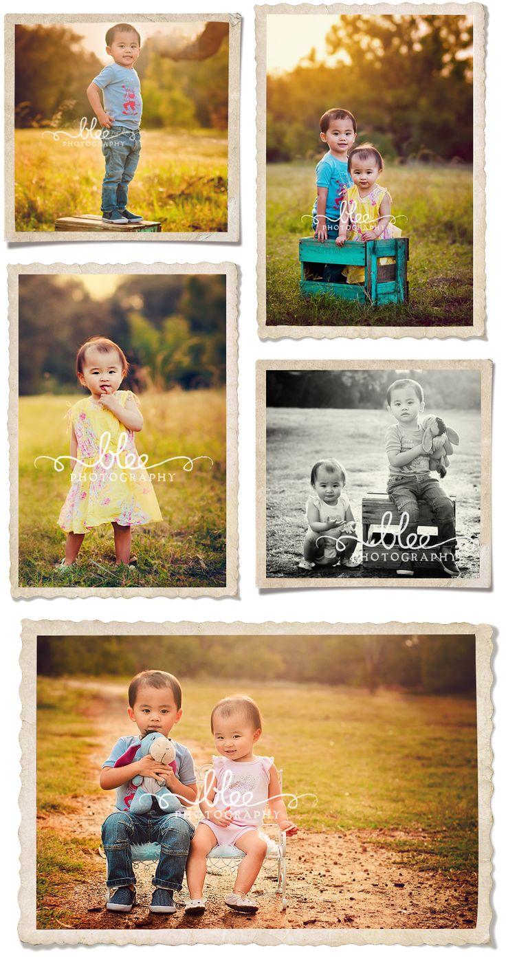 cute outdoor kids photography - Jaci & Jackson