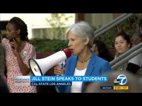 Jill Stein Campaigns at California State University in Los Angeles 6th October 2016 - YouTube - Jill stein for President Booster Club - 3:05